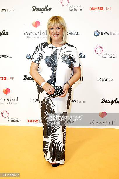 Patricia Riekel attends the Dreamball 2016 at Ritz Carlton on September 29 2016 in Berlin Germany