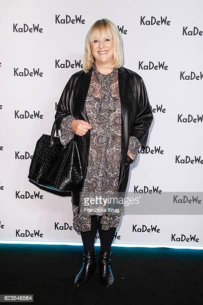 Patricia Riekel attends the KaDeWe Berlin Celebrates Redesign at KaDeWe on November 15 2016 in Berlin Germany