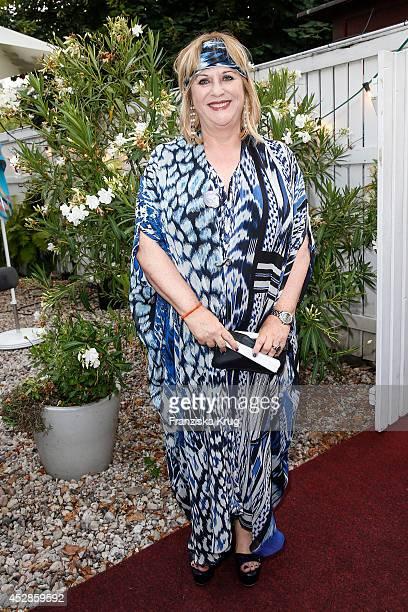 Patricia Riekel attends Udo Walz's 70th Birthday celebration at BAR jeder Vernunft on July 28 2014 in Berlin Germany