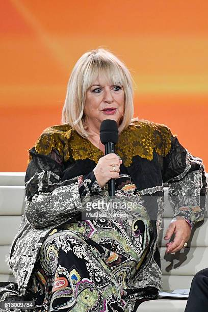 Patricia Riekel during the Tribute To Bambi showat Station on October 6 2016 in Berlin Germany