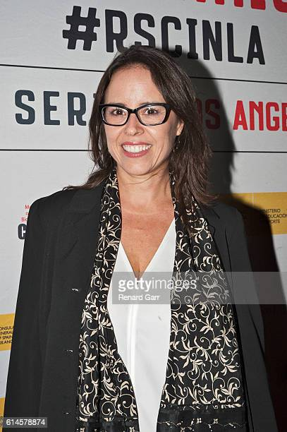 Patricia Riggen at the Egyptian Theatre on October 13 2016 in Hollywood California