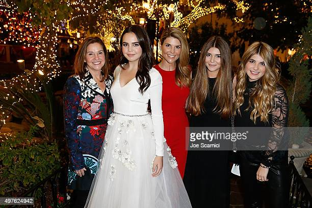 Patricia Riley Bailee Madison Lori Loughlin Olivia Giannulli and Isabella Giannulli pose for a photo prior to the World Premiere Screening of...