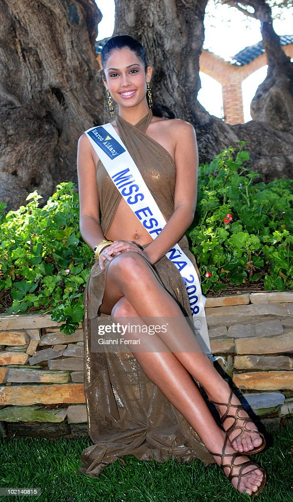 Patricia Rodriguez, Miss Spain 2008, second March 2008, 'Grand Hotel Oasis', Cancun, Mexico.