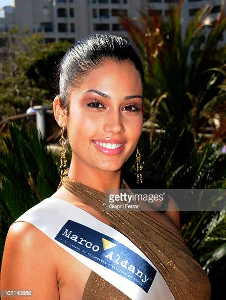 Patricia Rodriguez Miss Spain 2008 Second March 2008 'Grand Hotel Oasis' Cancun Mexico