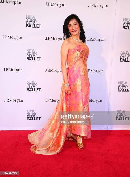 Patricia Shah attends the 2018 New York City Ballet Spring Gala at David H Koch Theater Lincoln Center on May 3 2018 in New York City