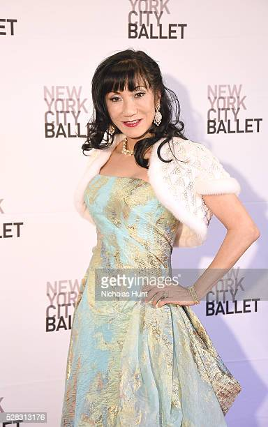 Patricia Shiah attends New York City Ballet's Spring Gala at David H Koch Theater at Lincoln Center on May 4 2016 in New York City