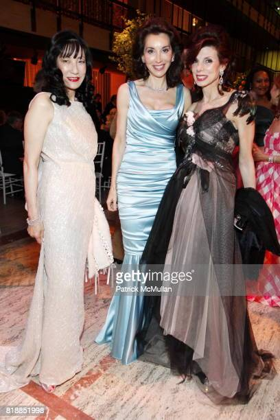 Patricia Shiah Fe Fendi and Susan Tabak attend NEW YORK CITY BALLET Spring Gala 2010 Arrivals at Lincoln Center on April 29 2010 in New York