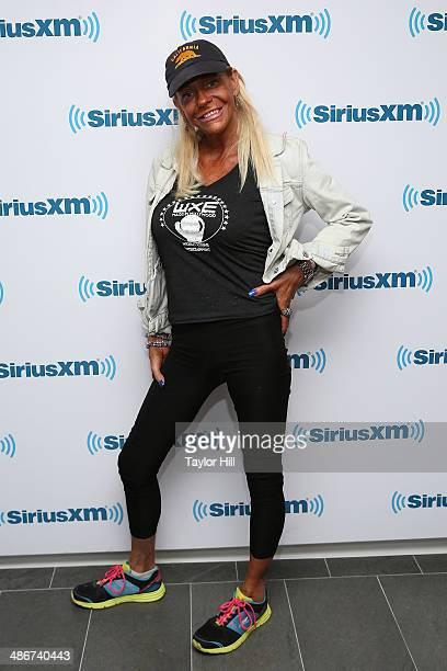 Patricia Tan Mom Krentcil visits the SiriusXM Studios on April 25 2014 in New York City