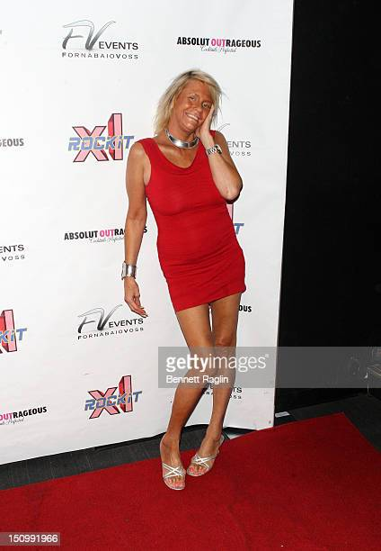 Patricia Tan Mom Krentcil visits XL Cabaret on August 29 2012 in New York City