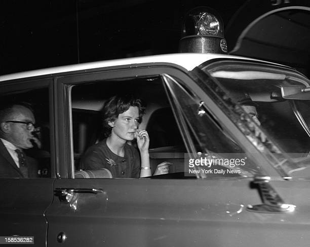 Patricia Tolles leaves 57 E 88th St where her two roommates were savagely murdered shortly after she went to work Patricia a magazine employe was...