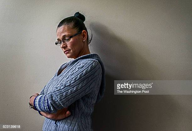 Patricia Vallejo, who lost a daughter to a heroin overdose, in her home on January 2016 in Woodbridge, VA.
