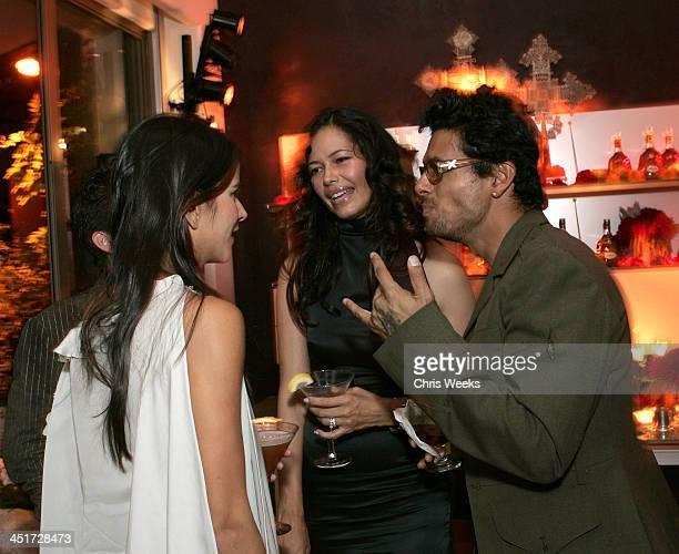 Patricia Velasquez Angela Alvarado Rosa and Robi Draco Rosa