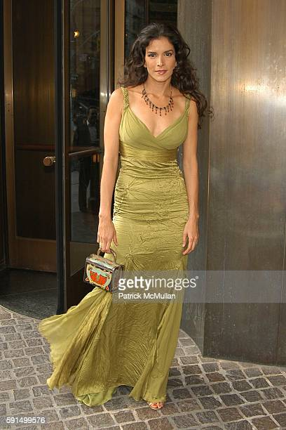 Patricia Velasquez attends Wayuu Taya Foundation Dinner at Tribeca Grand Hotel NYC USA on June 20 2005