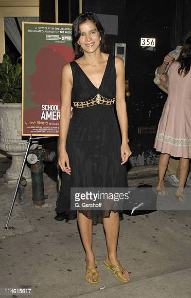 Patricia Velasquez during The Opening Night of the World Premiere of School of the Americas by Jose Rivera at Marions Continental in New York City...