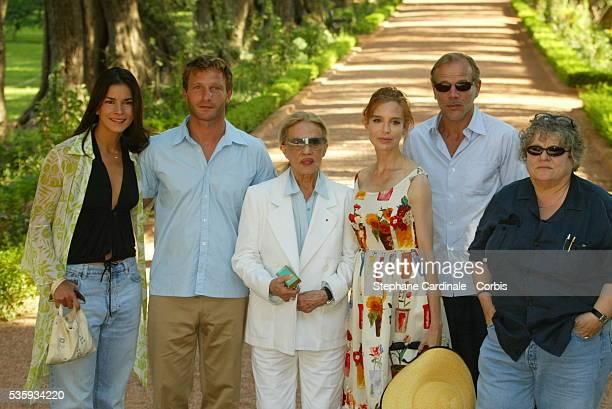 Patricia Velasquez Thomas Kretschmann Jeanne Moreau Anna Thomson Pascal Greggory and Josee Dayan