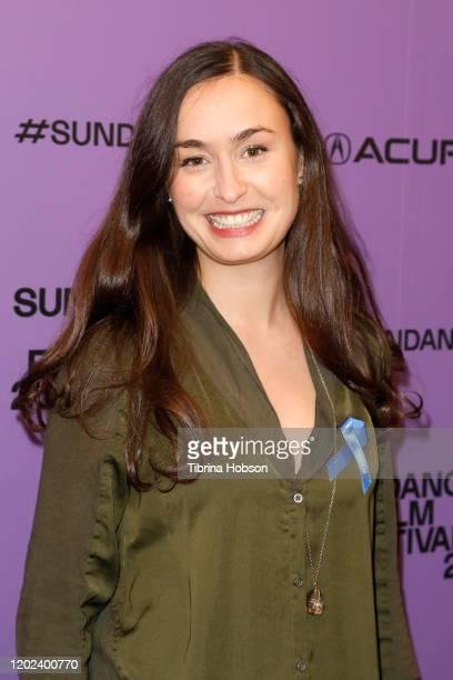 Patricia Vidal Delgado attends the 2020 Sundance Film Festival La Leyenda Negra Premiere at Egyptian Theatre on January 27 2020 in Park City Utah