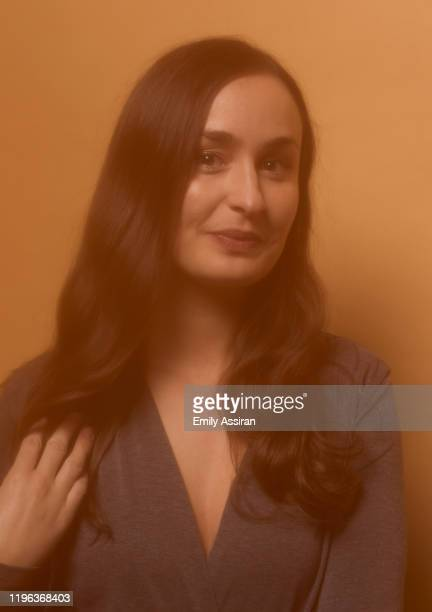 Patricia Vidal Delgado from La Leyenda Negra poses for a portrait at the Pizza Hut Lounge on January 24 2020 in Park City Utah