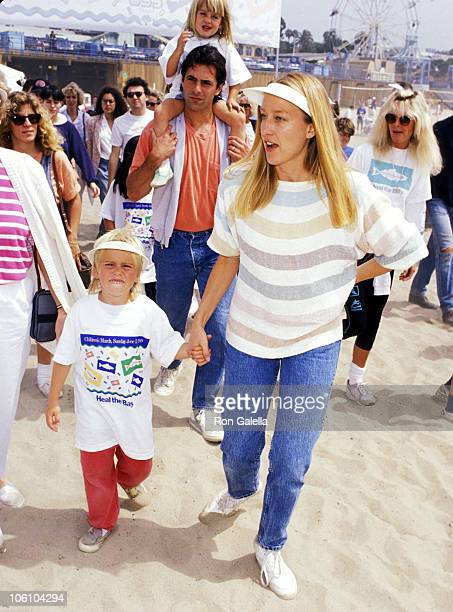 Patricia Wettig Ken Olin son Clifford Olin and daughter Roxanne Olin