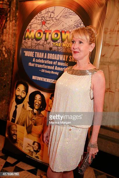 Patricia Wilcox attends the opening night of Motown The Musical at The Fisher Theatre on October 22 2014 in Detroit Michigan