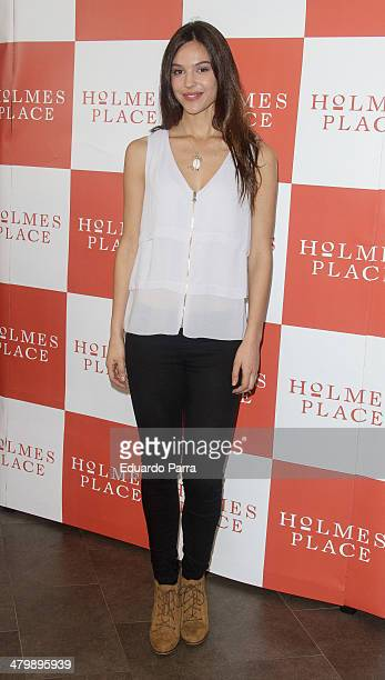 Patricia Yurena attends 'iDance' opening photocall at Holmes Palace on March 21 2014 in Madrid Spain