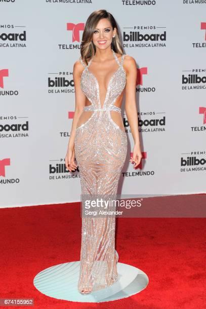 Patricia Zavala attends the Billboard Latin Music Awards at Watsco Center on April 27 2017 in Coral Gables Florida