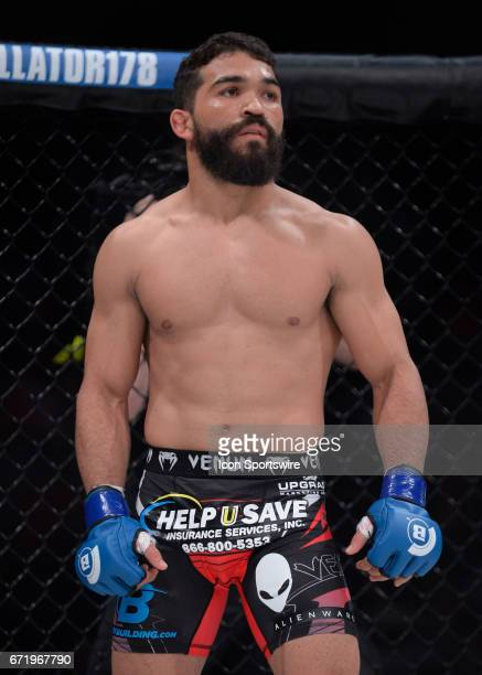 Patricio Freire takes on the Featherweight Champion Daniel Straus for the Featherweight title on April 21, 2017 at Bellator 178 at the Mohegan Sun...