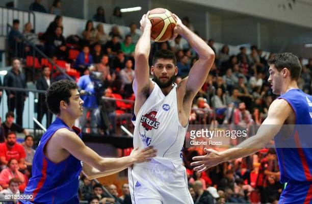 Patricio Garino of the White Team in action during the 29th Liga Nacional AllStar Game at Roberto Pando Sports Center of San Lorenzo on July 23 2017...