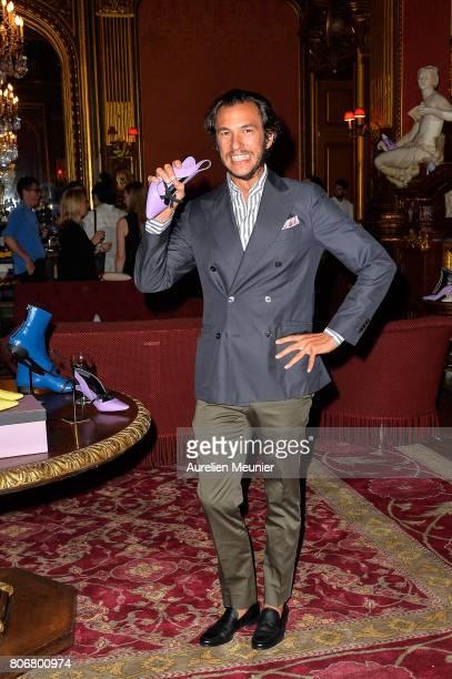 Patricio Miceli attends the dinner to celebrate the launch of Fabrizio Viti Cruise 18 Collection Back In Love Again at Hotel La Pavia on July 3 2017...
