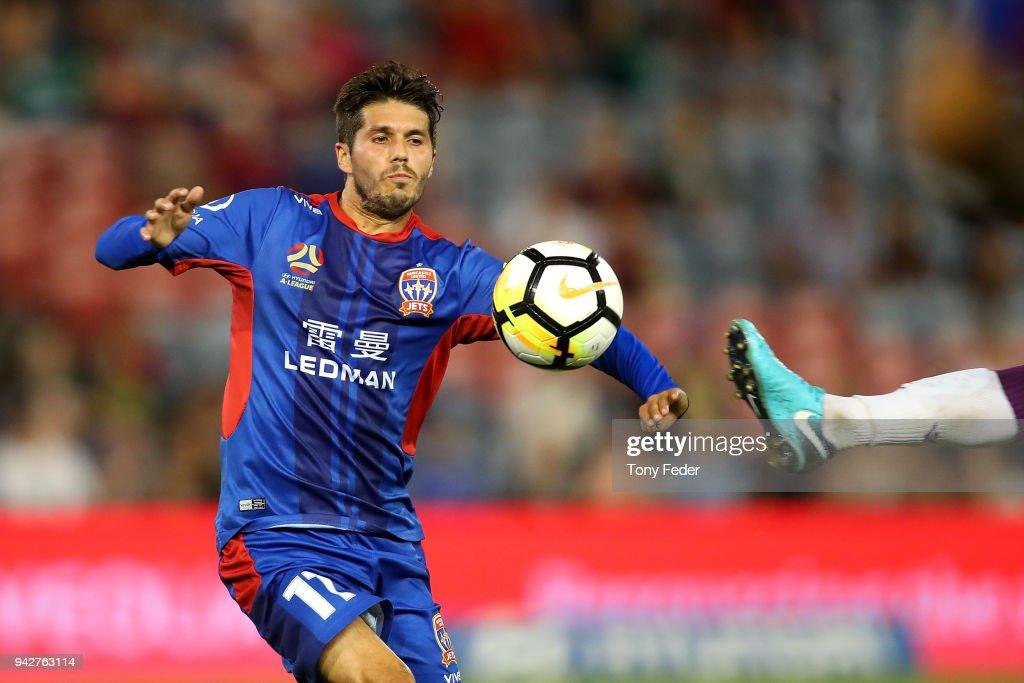 A-League Rd 26 - Newcastle v Perth