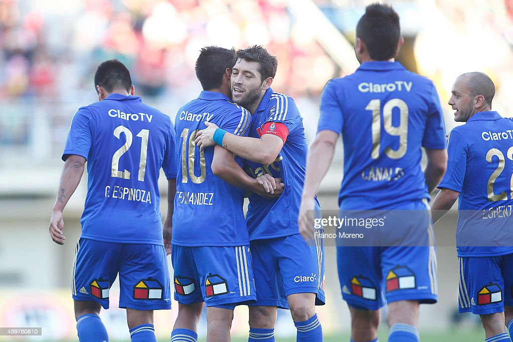 Ñublense v U de Chile - Torneo Apertura 2014 : News Photo