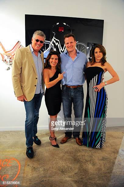 Patrick Abada Gabrielle HatchuelBeckerAbada Henrik Welle and Jill Fistel attend the World a show of three European contemporary iconic photographers...