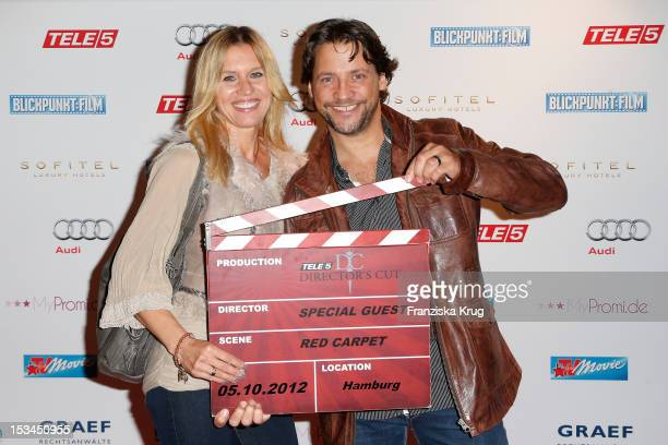Patrick Bach and Carola Bach attend the TELE 5 Directors Cut at Sofitel on October 5 2012 in Hamburg Germany