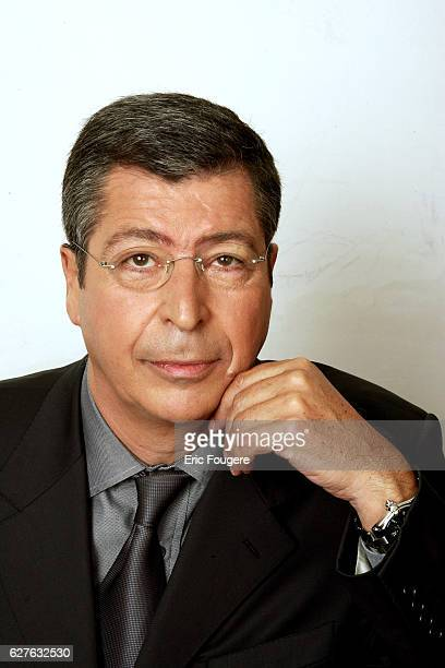 Patrick Balkany on the set of TV show 'Piques et Polemiques'