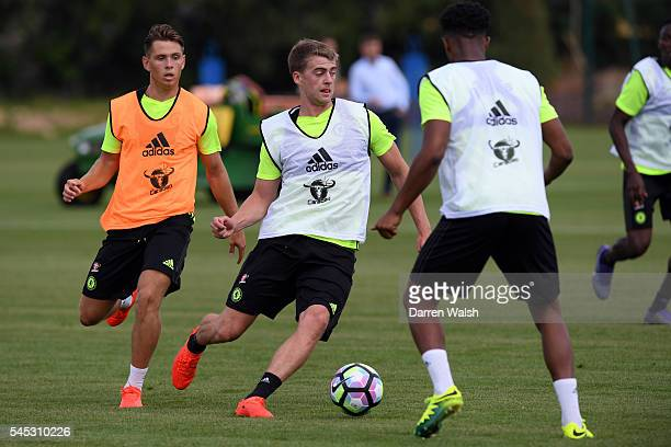 Patrick Bamford at Chelsea Training Ground on July 6 2016 in Cobham England