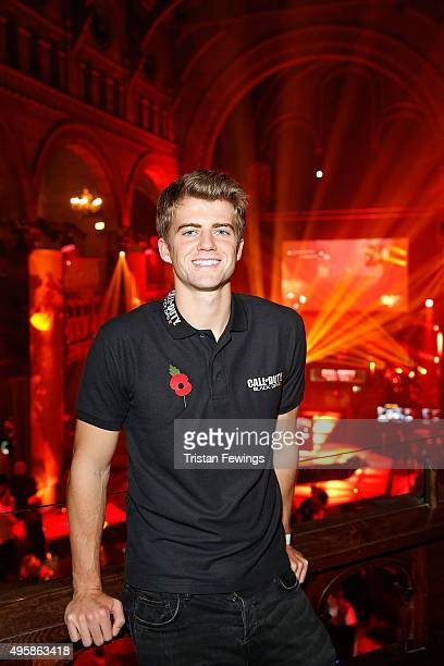 Patrick Bamford attends the Call of Duty Black Ops III launch at One Mayfair on November 5 2015 in London England