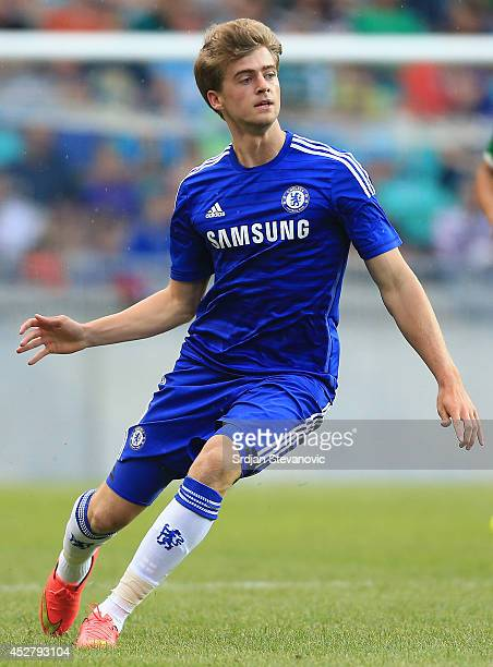 Patrick Bamford of Chelsea in action during the Pre Season Friendly match between FC Olimpija Ljubljana and Chelsea at Stozice stadium in Ljubljana...