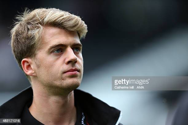 Patrick Bamford of Crystal Palace before the preseason friendly between Fulham and Watford at Craven Cottage on August 1 2015 in London England