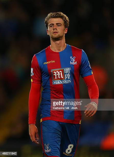 Patrick Bamford of Crystal Palace during the Capital One Cup match between Crystal Palace and Shrewsbury Town at Selhurst Park on August 25 2015 in...