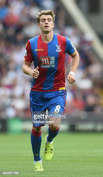 Patrick Bamford of Crystal Palace in action during the Barclays Premier League match between Crystal Palace and Arsenal on August 16 2015 in London...