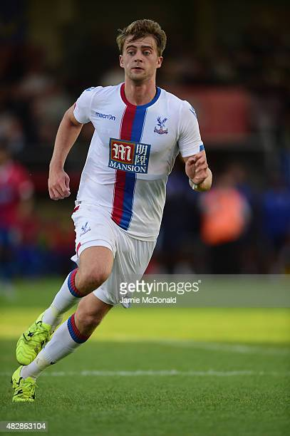 Patrick Bamford of Crystal Palace in action during the pre season friendly match between Dagenham and Redbridge and Crystal Palace at Victoria Road...