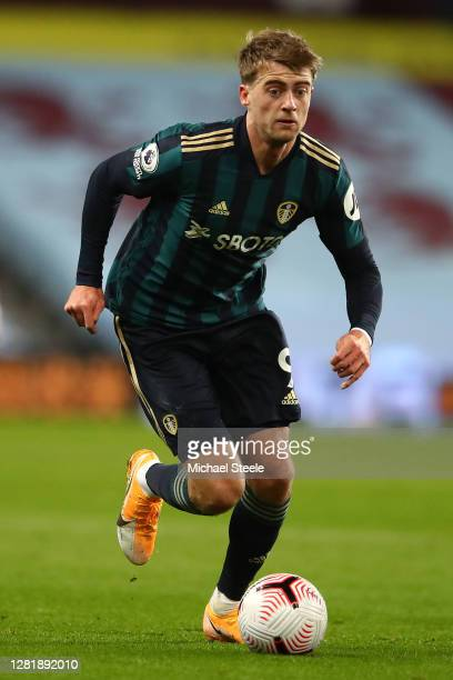 Patrick Bamford of Leeds United during the Premier League match between Aston Villa and Leeds United at Villa Park on October 23 2020 in Birmingham...