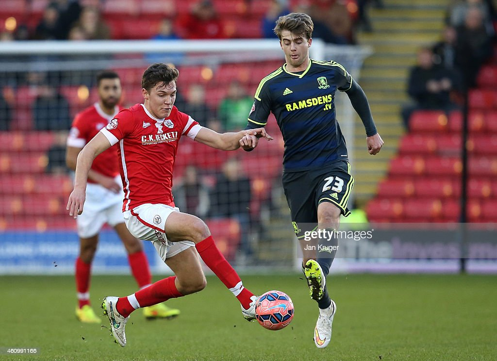 Barnsley v Middlesbrough - FA Cup Third Round : News Photo