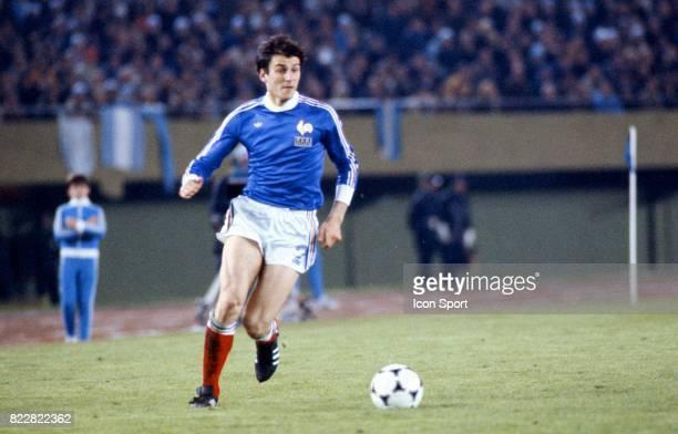 Patrick Battiston Argentine / France 1er Tour Coupe du monde de football de 1978 Estadio Monumental Buenos Aires