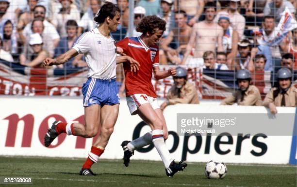 Patrick BATTISTON / Graham RIX France / Angleterre Coupe du Monde 1982 match de poule