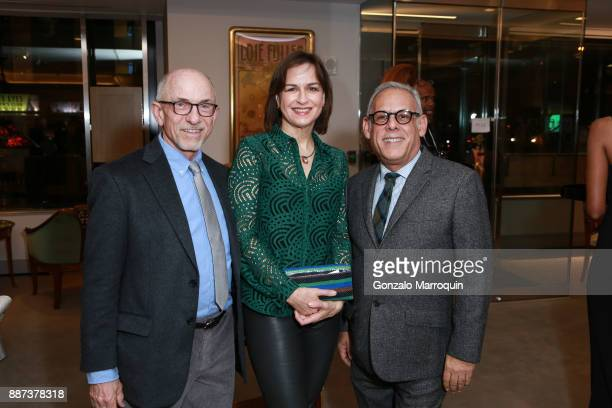 Patrick Bell Friederike Moltmann and Anthony Baratta during the Macklowe Gallery Hosts 2018 Winter Antiques Show Kickoff Event at 445 Park Avenue on...