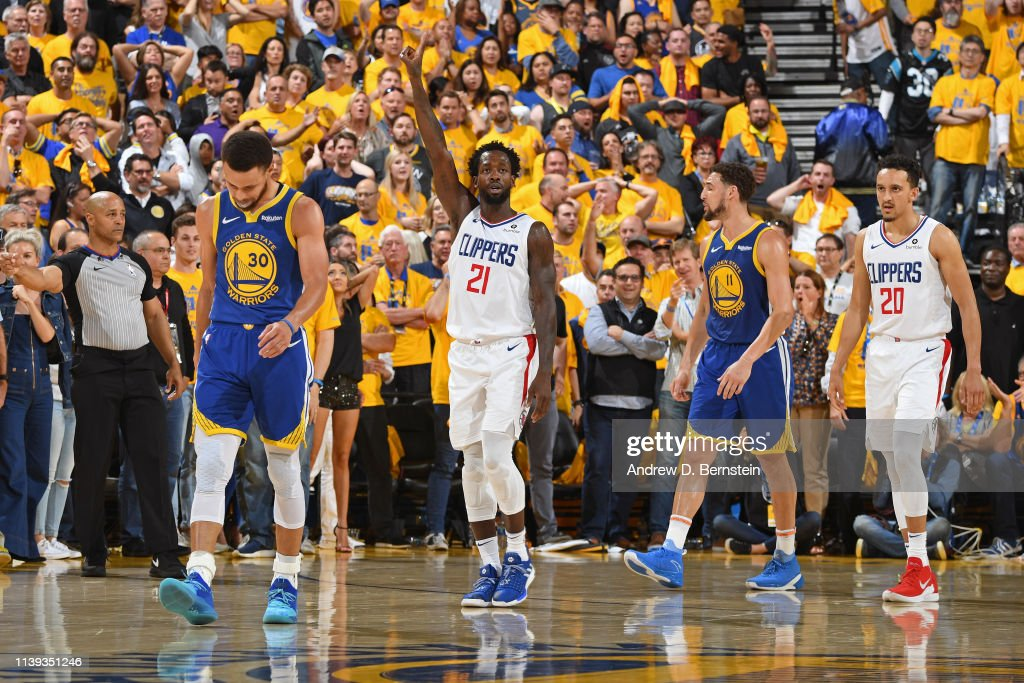LA Clippers v Golden State Warriors - Game Five : News Photo