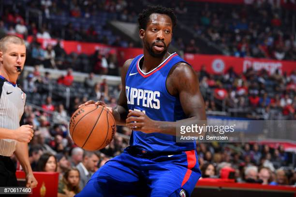 Patrick Beverley of the LA Clippers handles the ball during the game against the Miami Heat on November 5 2017 at STAPLES Center in Los Angeles...