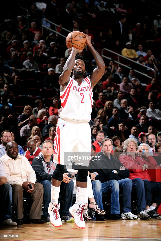 Patrick Beverley 2 Of The Houston Rockets Shoots Against Chicago Bulls On February 4