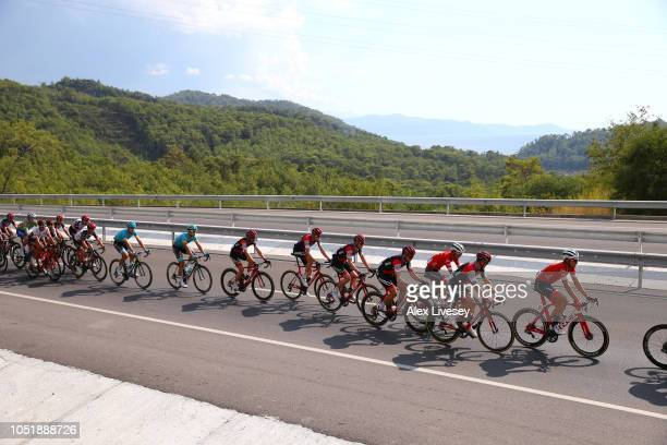 Patrick Bevin of New Zealand / Tom Bohli of Switzerland / Brent Bookwalter of The United States / Jean Pierre Drucker of Luxembourg / Kilian Frankiny...