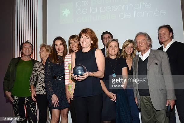 Patrick Blanc Anne de La Baume Elsa Zylberstein Anne Lauvergeon Muriel Mayette a guest Alexandre DuvalStalla Wendy Bouchard Philippe Tesson and...